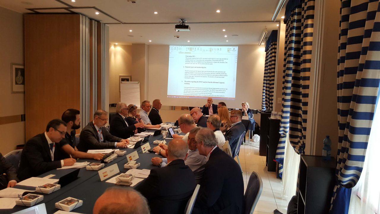 1  - Збори Правління Європейської Локсмайстер Федерації (ELF) м. Болонья, Італія