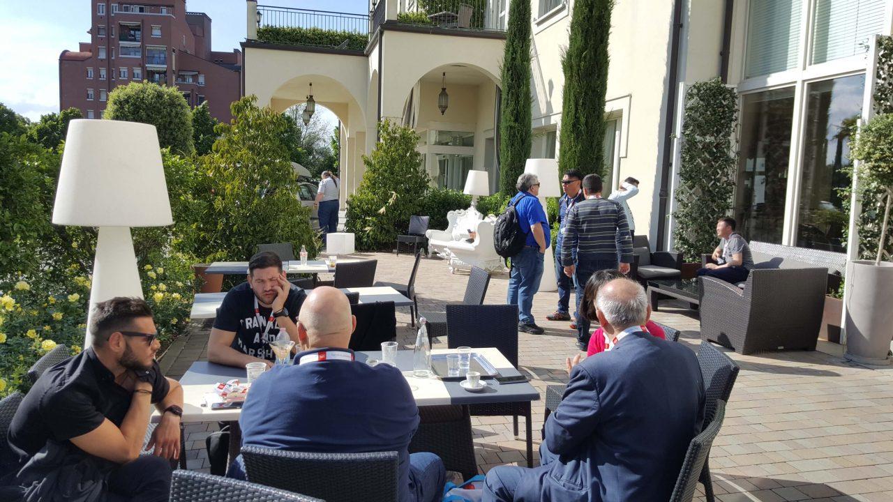 3  - Збори Правління Європейської Локсмайстер Федерації (ELF) м. Болонья, Італія
